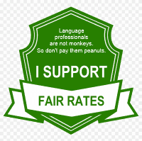 Fair rates peanuts (small transparent)